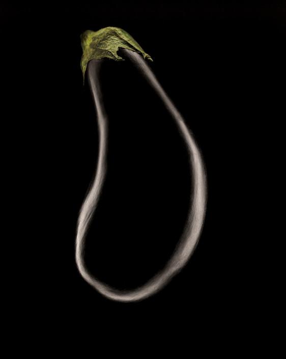 Ghost Aubergine - Food Photography - Giovanni Barsanti