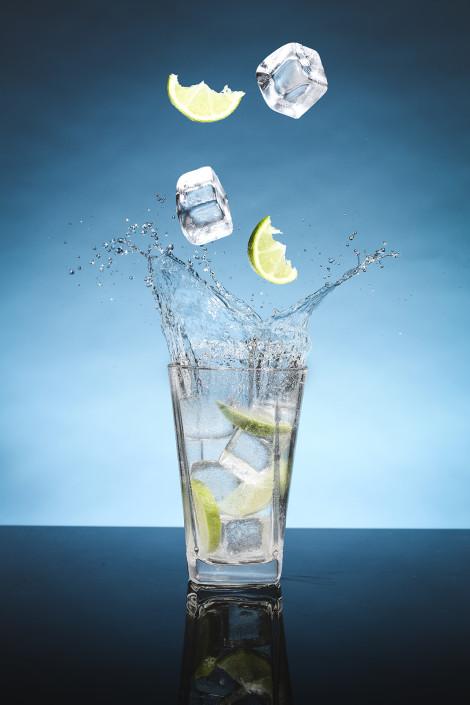 Splash of Blue - Product Photography - Giovanni Barsanti